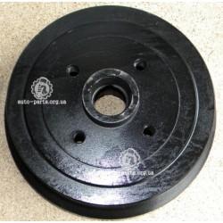 Барабан тормозной Ланос задний 1.5 со ступицей окрашен